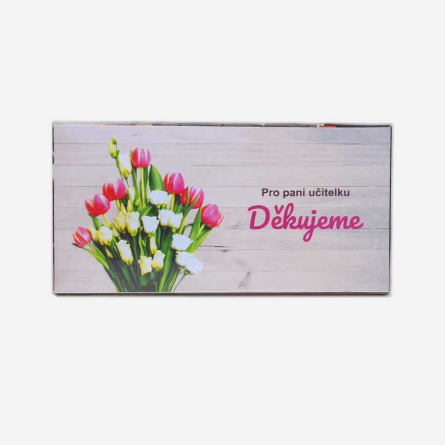 3664 Čokoláda pro učitelku tulipány