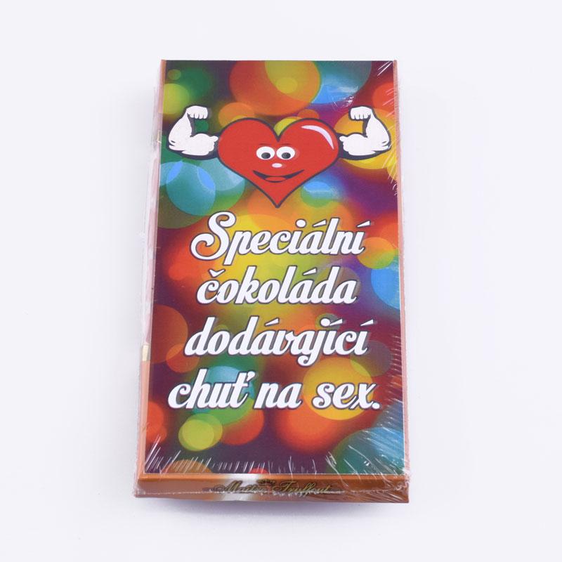 3133 Čokoláda - Speciální, dodávající chuť na sex